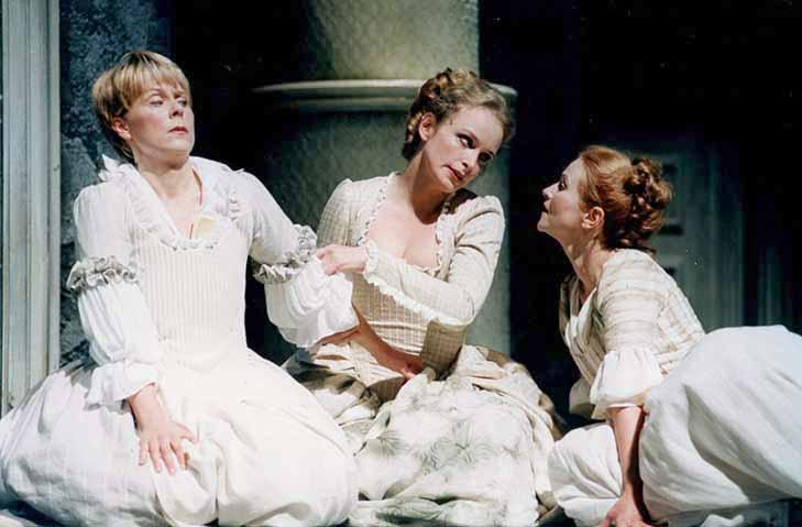Susanne, Figaros Hochzeit, W. A. Mozart