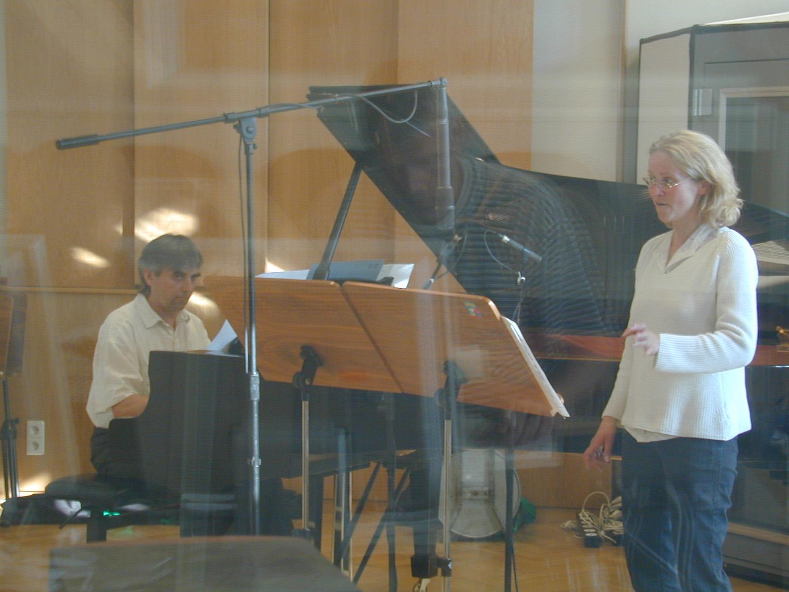 """CD Aufnahme: """"Lieder: Weber, Schuhmann, Debussy"""""""